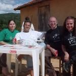 Arsenio, Zelinda, Vinicius e Renata