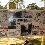 Exposição sobre São Thomé no Quiosque