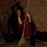 Aretha Marcos na Sala do Pentagrama