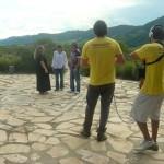 Gravação dos Caçadores de Aventuras com Ricardo Malicia