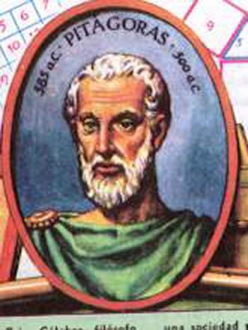 Resultado de imagem para Pitágoras
