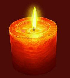 vela laranja