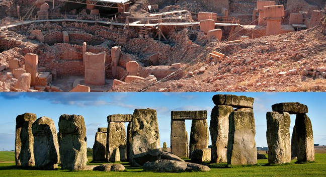 Gobekli-Tepe-Stonehenge