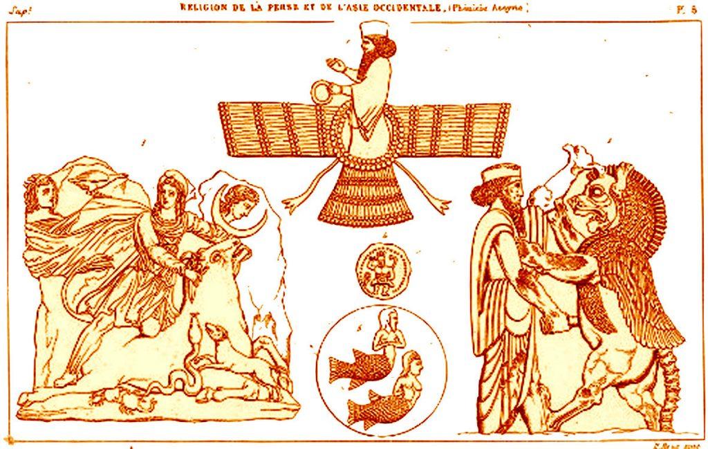 IRAN-PHOENICIA-ASSYRIA-Ormuzd