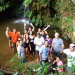 Passeio à Cachoeira