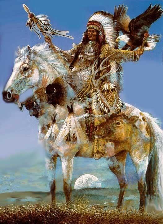 IndianEagleHorsebuffalomanysprit-1