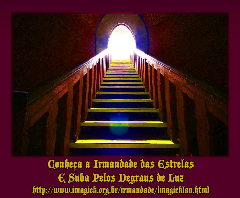escada de luz