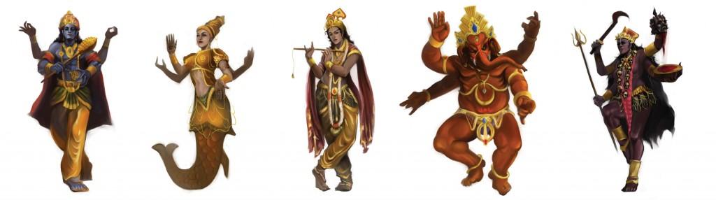 Hindu_Gods_by_y25m