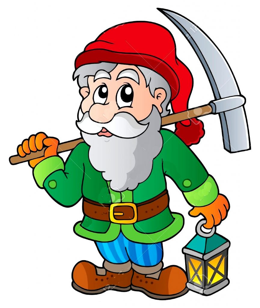 13879110-Cartoon-dwarf-miner-Stock-Vector-gnome