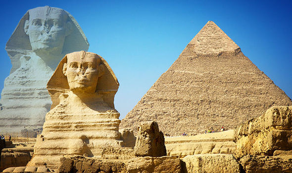 Ancient-Egypt-Pyramids-and-the-Sphinx