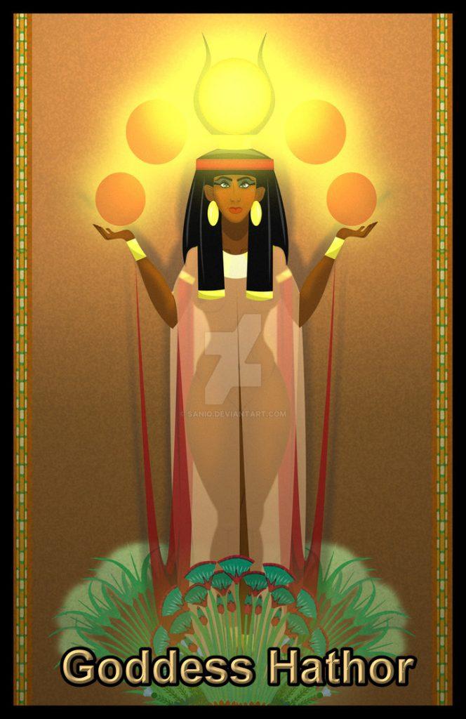 goddess_hathor_by_sanio-d665yxf